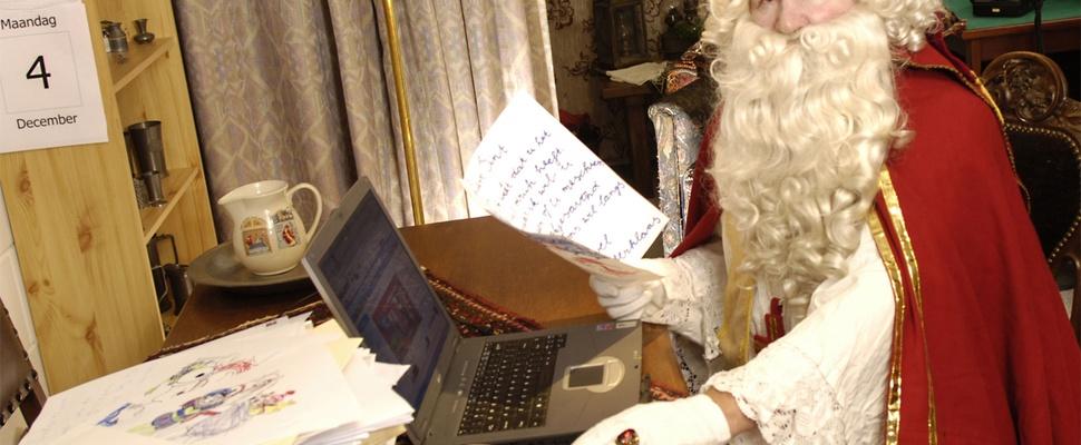 Sinterklaas slaat groot in op internet
