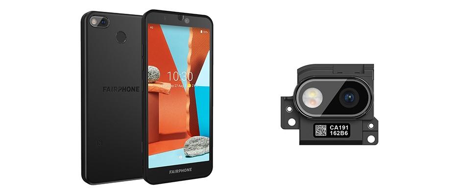 Camera's van Fairphone 3 nu te vervangen