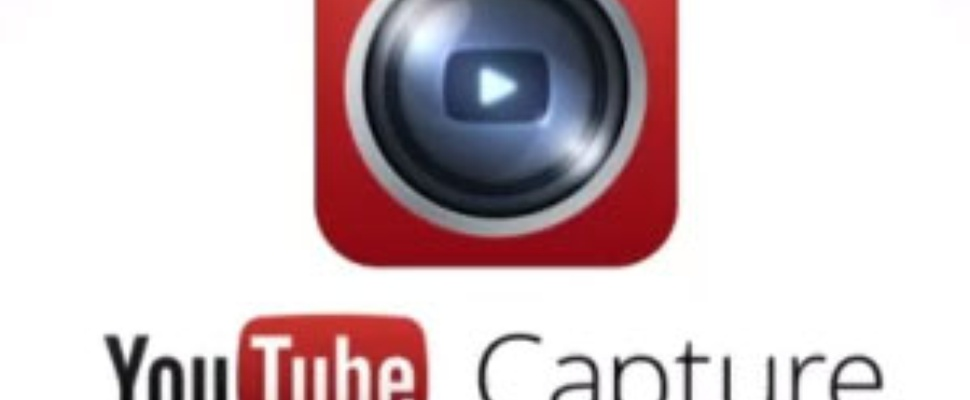 YouTube Capture camera app voor iOS