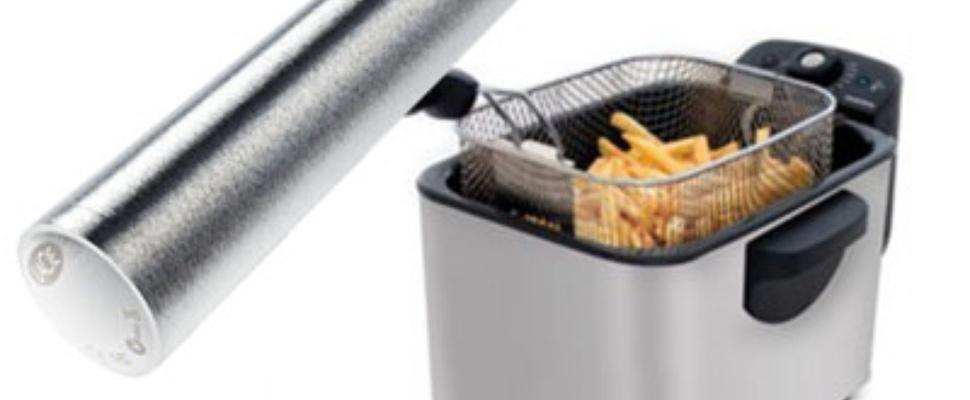 LaCie XtremKey usb-stick in frituurpan