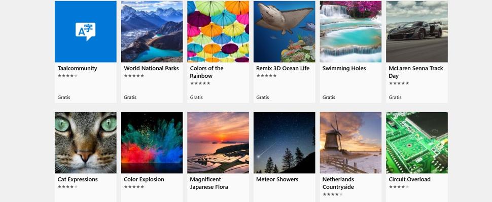 Gratis Windows 10 wallpapers downloaden en instellen