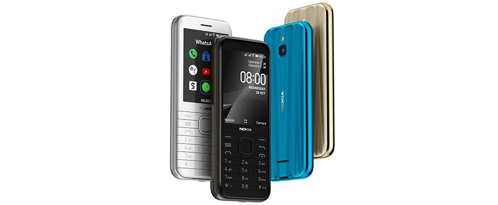 Nokia 8000 4G: Nostalgisch maar ook modern