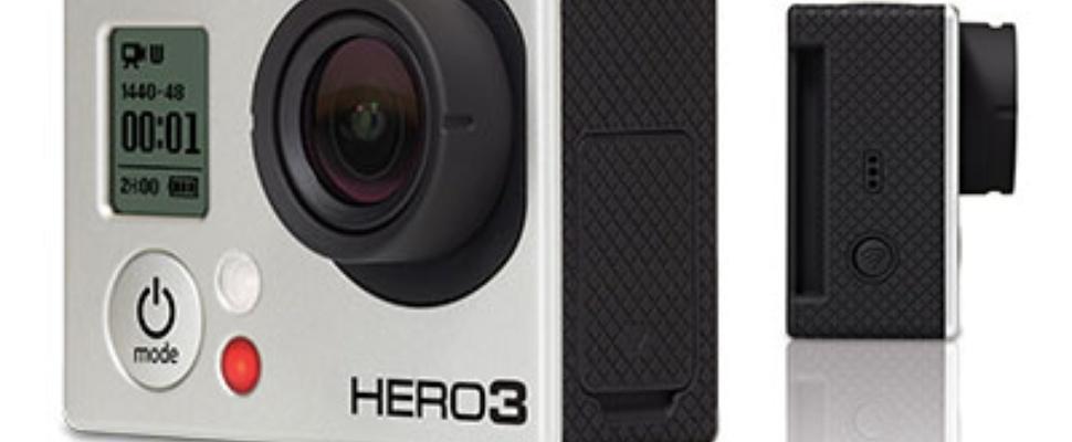 GoPro HD Hero 3 schiet 4K video