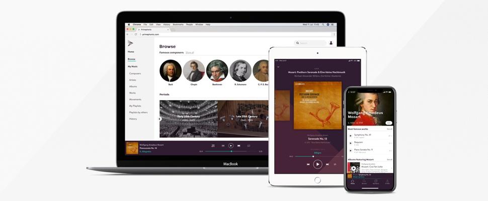 Primephonic is streamingdienst voor klassieke muziek
