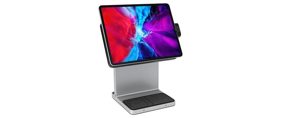 iPad op ooghoogte door Kensington StudioDock
