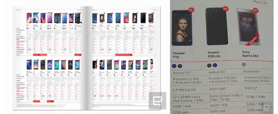 Huawei P20 Lite specificaties zijn bekend