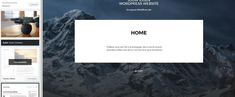 Een eigen website bouwen?