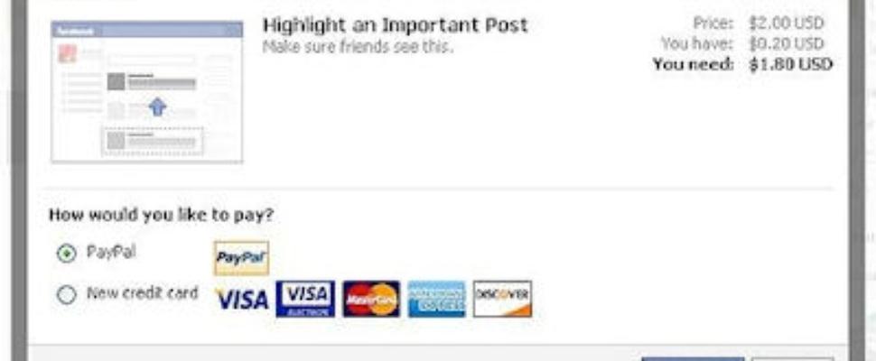 Facebook Important Posts: betalen voor aandacht