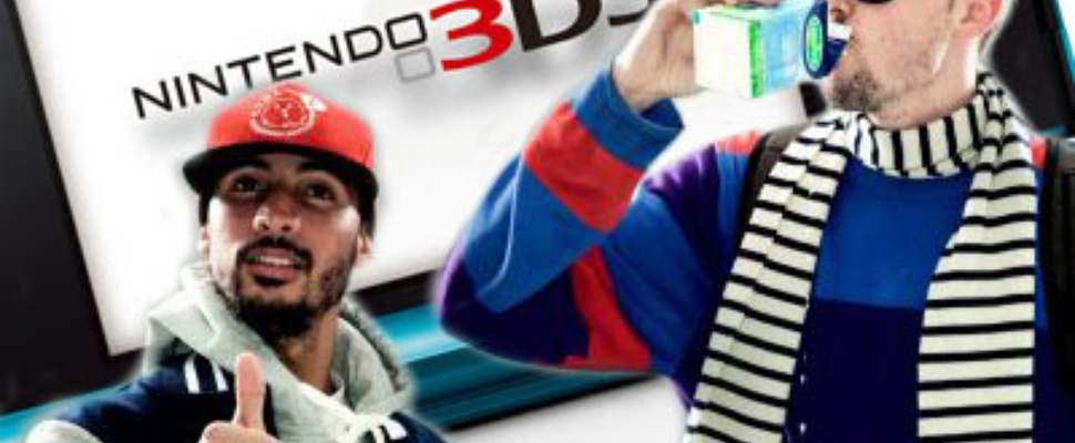 The Opposites videoclip in 3d op Nintendo 3DS