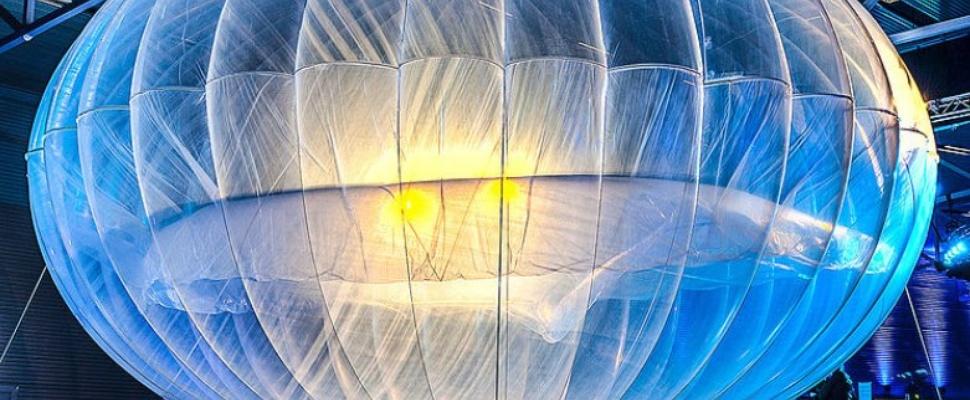 Internet op grote hoogte: de (proef)ballon van Google