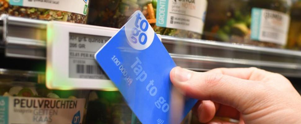 Kassaloos winkelen met smartphone bij Albert Heijn