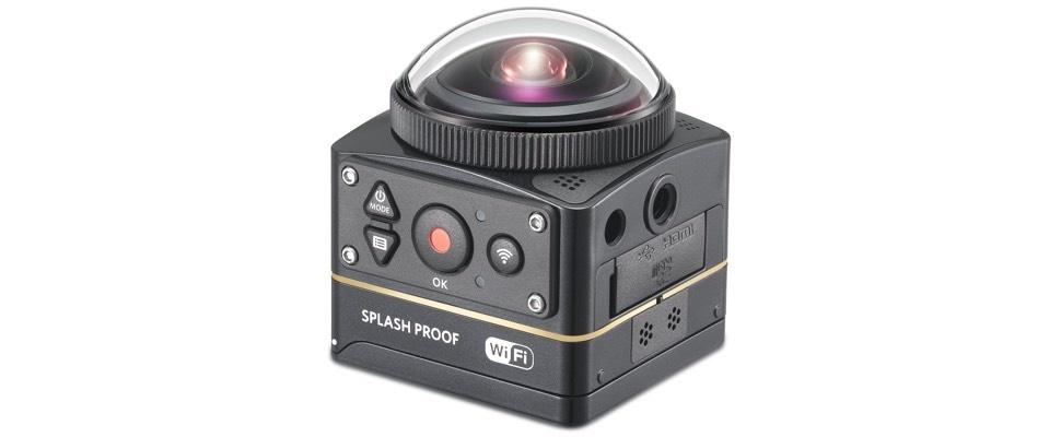Kodak komt met 360 graden-actiecamera