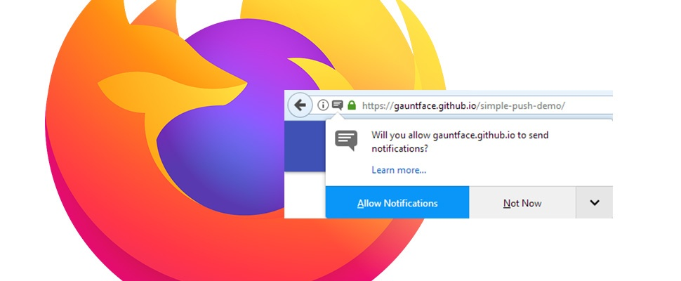 Site-notificaties minder opdringerig in Firefox en Chrome