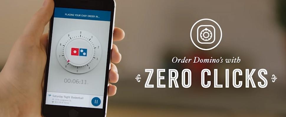 Zero Click-app maakt pizza's bestellen wel érg simpel