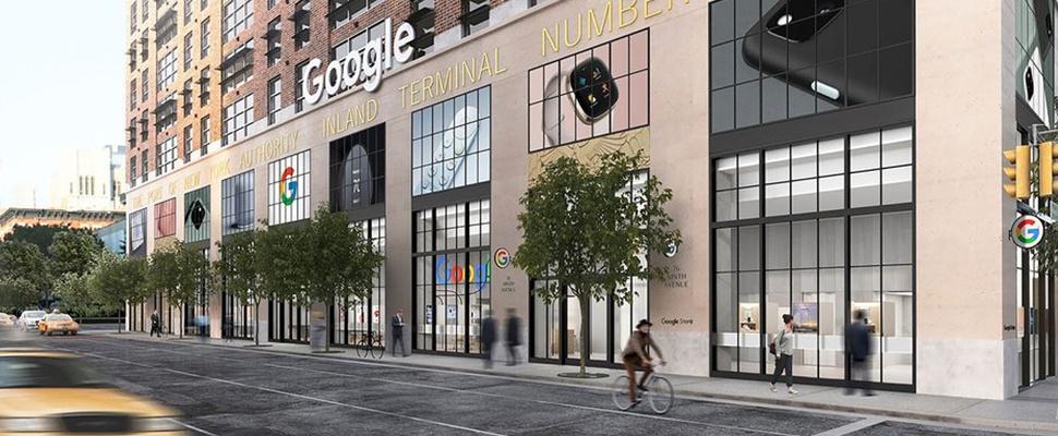 Google opent fysieke winkel in New York