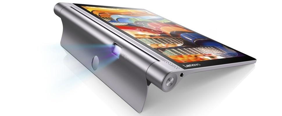 Lenovo komt met nieuwe projector-tablet Tab 3 Pro
