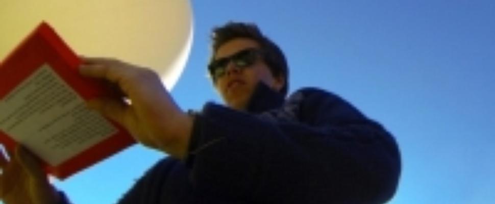 16-jarige jongen maakt ruimtefoto's vanaf 36 kilometer hoogte
