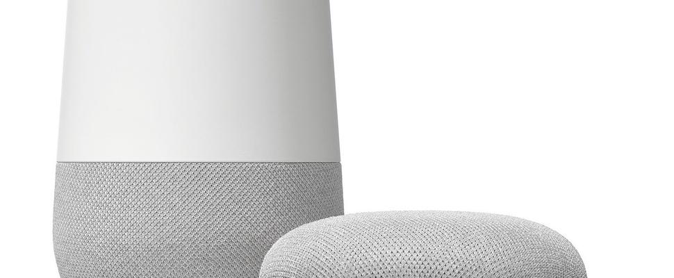 Google Home-speakers in Nederland verkrijgbaar