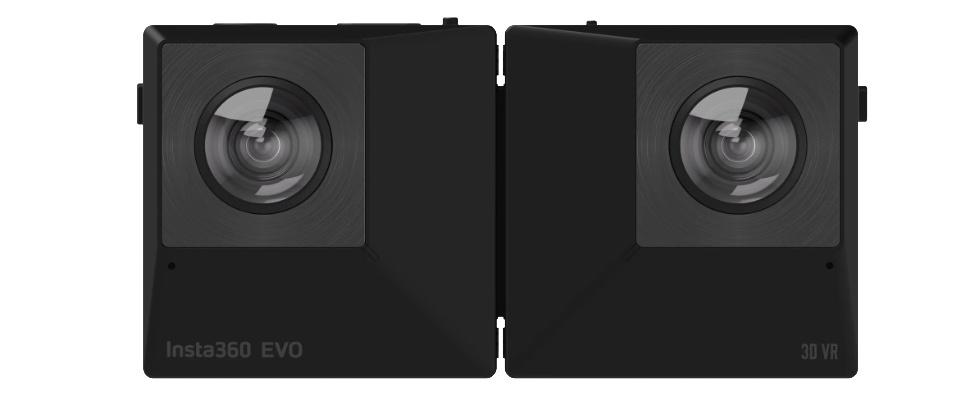 Insta360 Evo vouwt dubbel voor vr-beelden