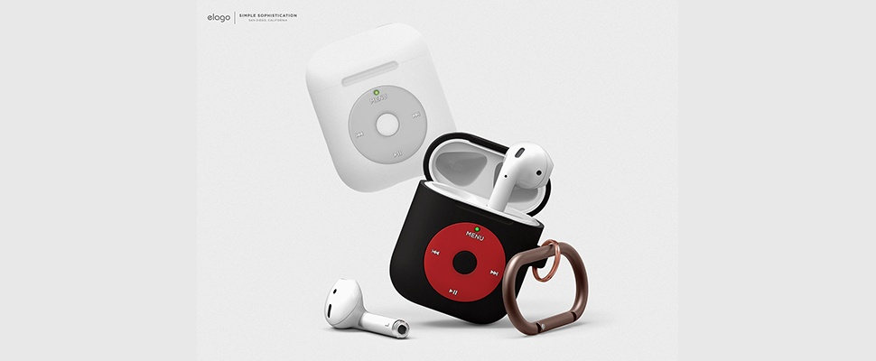 AW6 Airpods Case is iPod-doosje voor oordopjes