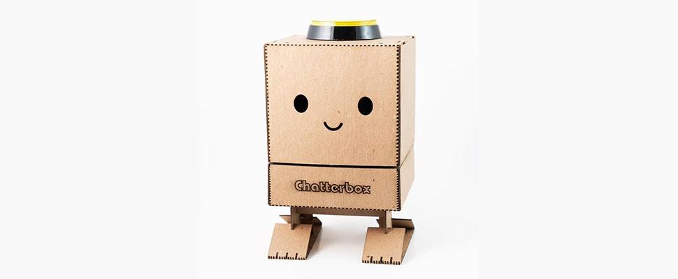 Slimme speakers worden niet schattiger dan de Chatterbox