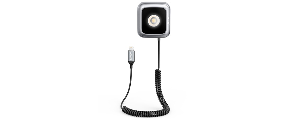 Feller flitsen met Anker LED Flash voor iPhones
