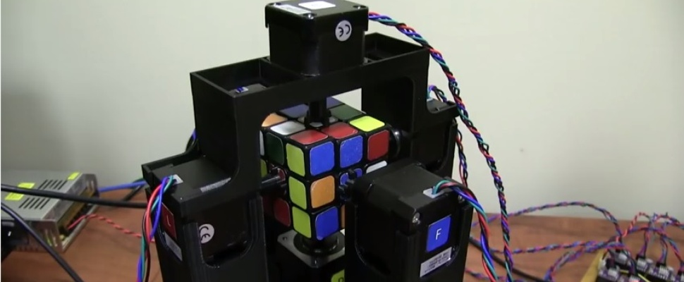 Robot lost Rubik's Cube in één seconde op