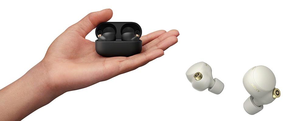 Sony WF-1000XM4-oortjes zitten gesprekken niet in de weg