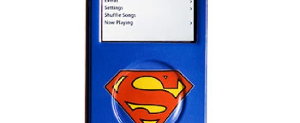 Is het 'n vogel? 'n Vliegtuig? Nee, het is Super-iPod!