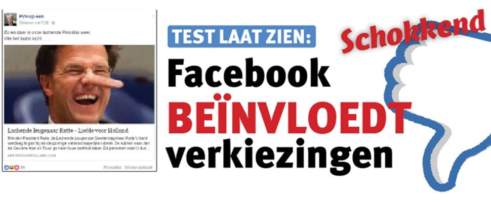 Facebook beïnvloedt Tweede Kamerverkiezingen