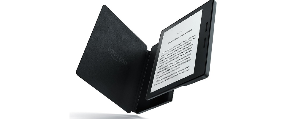 Amazon kondigt Kindle Oasis met oplaadhoes aan