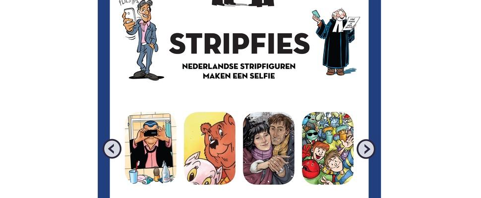 Na de selfie en de stemfie: de stripfie!
