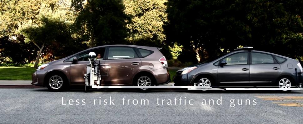 Robotpolitie wil even je rijbewijs zien