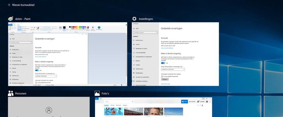 Windows 10 April Update vanaf vandaag uit