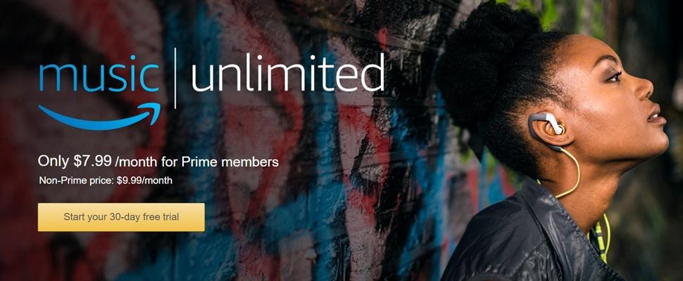 Amazon Music Unlimited wil concurreren met Spotify