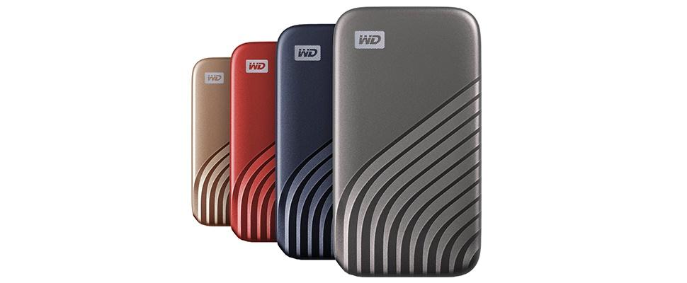 My PassPort SSD van Western Digital in sneller jasje