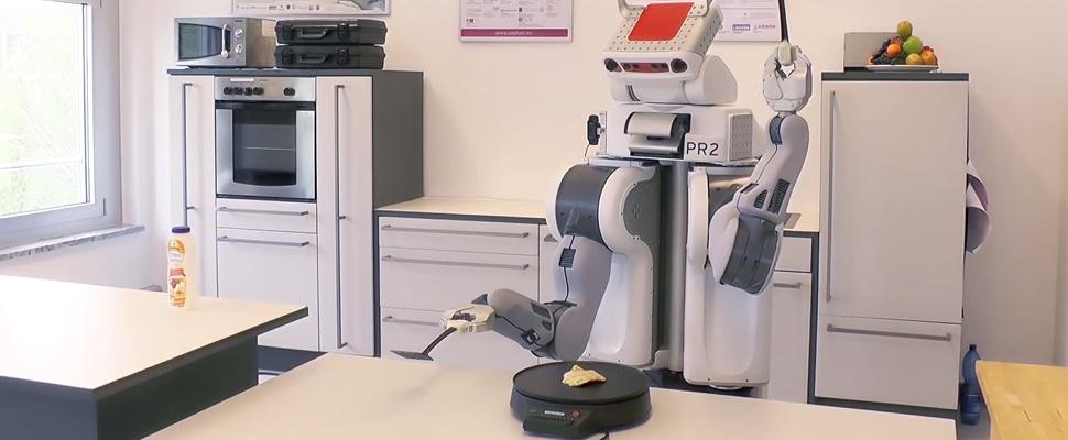 Robots leren zichzelf koken