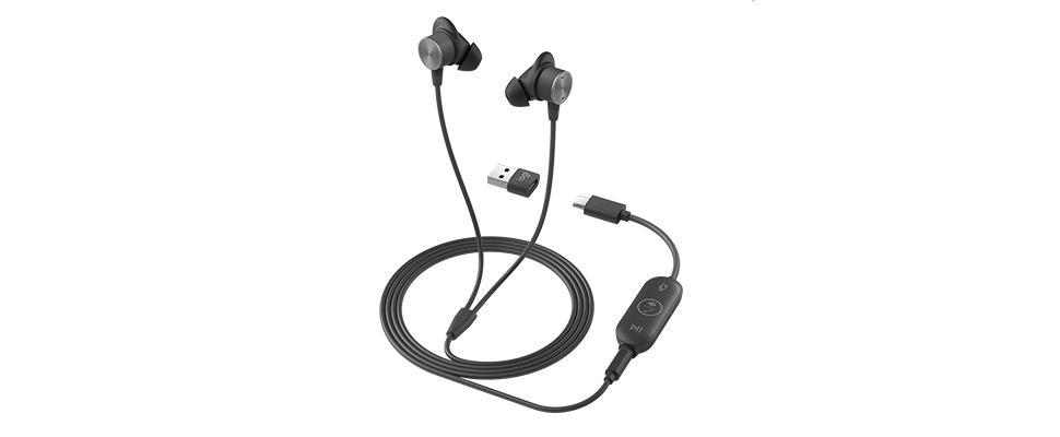 Professioneel videovergaderen met de Zone Wired Earbuds