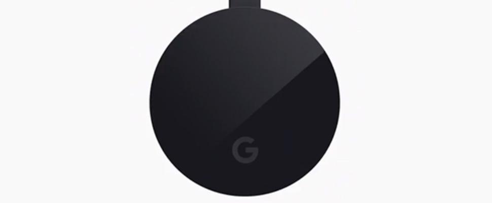 Google onthult krachtigere Chromecast Ultra