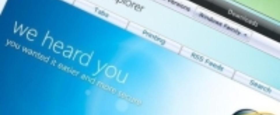 Lek in oude versies Internet Explorer