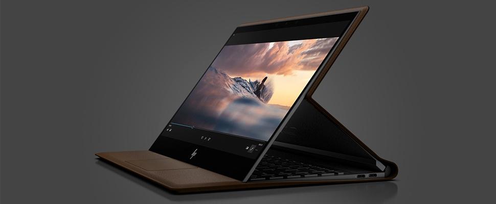 Spectre Folio: leren laptop van HP