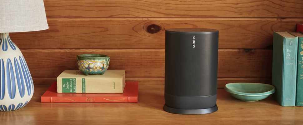 Sonos Move is draadloze speaker met wifi en bluetooth