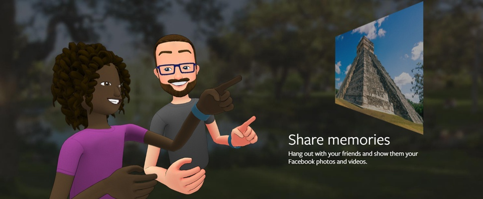 Facebook lanceert sociale vr-app Spaces