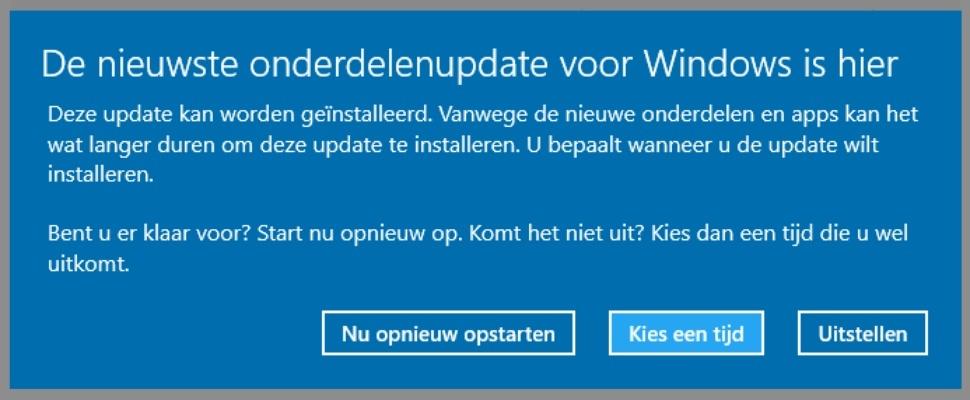 Automatische Windows-updates worden slimmer