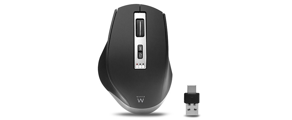 Minder muizen in huis met EW3240 Draadloze Multi-Connect Muis