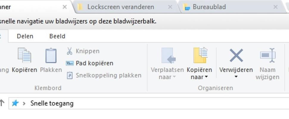 Chrome-tabbladen toevoegen aan Windows Verkenner met ...