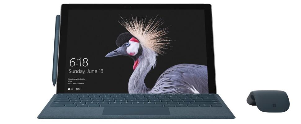 'Microsoft kondigt maandag opvolger Surface Pro 4 aan'