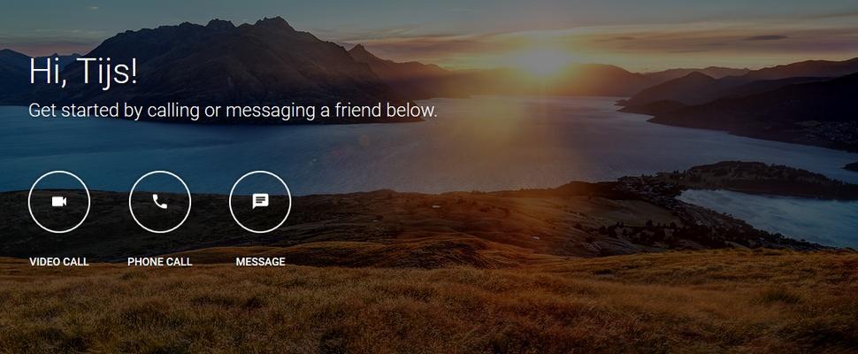 Google maakt aparte web-versie Hangouts