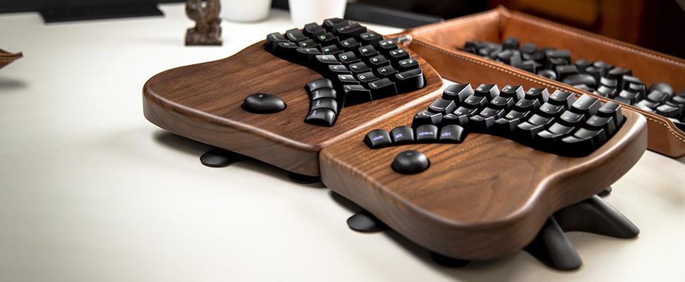 Ergonomie in stijl met Keyboardio Model 100