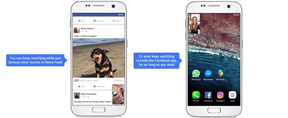 Facebook-video's ook buiten app af te spelen